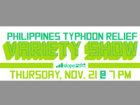 Philippines Typhoon Relief Variety Show
