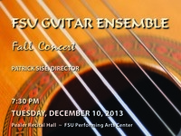 FSU Guitar Ensemble Concert