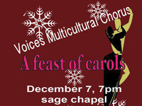 VOICES Multicultural Chorus Presents A Feast of Carols