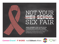 Not Your High School Sex Fair