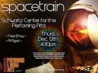 Spacetrain at the Kiplinger Theater, Schwartz Center
