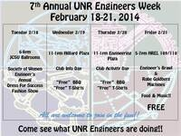 7th Annual Engineers Week: Student Clubs Tabling