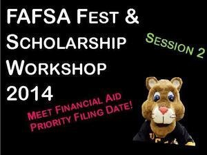 UCCS FAFSA FEST and Scholarship Workshops 2014 - Session 2