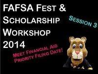 UCCS FAFSA FEST and Scholarship Workshops 2014 - Session 3
