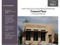 Treasured Places: A Community Gathering in African American District