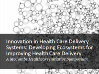 Grad Students: Call for Abstracts for McCombs Healthcare Initiative