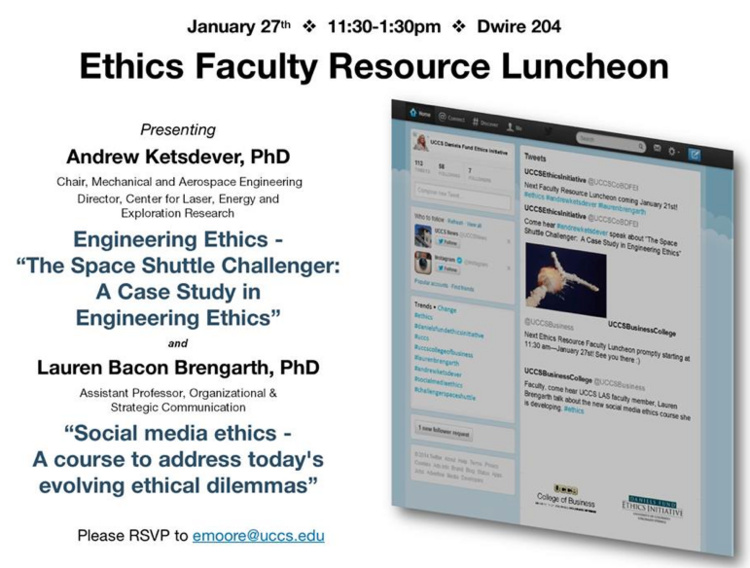 Faculty Roundtable Luncheon