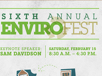"EnviroFest ""6 Degrees of Sustainability"""