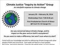 "Interfaith Climate Justice ""Inquiry to Action"" Group"