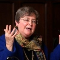 """Annual Mary Milligan, R.S.H.M. Lecture in Spirituality: """"Creation: Is God's Charity Broad Enough for Bears?"""" by Elizabeth A. Johnson, C.S.J."""