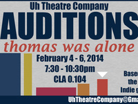 """""""Thomas Was Alone"""" Open Auditions"""