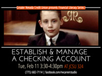 Financial Literacy: Manage a Checking Account