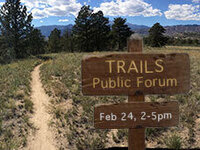 Trails Public Forum
