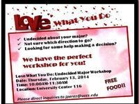 Love What You Do: Undecided Majors Workshop