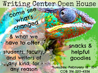 Writing Center Open House