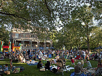Watermelon Concerts on the Quad - (Tim Snider and Sound Society)