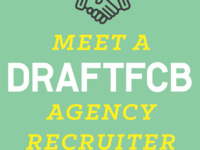 Meet a Draft FCB Agency Recruiter and hear about Pharma advertisting