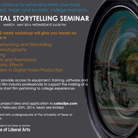Digital Storytelling Seminar Application, College of Liberal Arts
