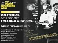 Jazz Presents | Max Roach's Freedom Now Suite | Directed by Cecil Bridgewater