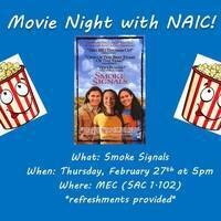 "Movie Night with NAIC: ""Smoke Signals"""