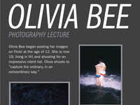Olivia Bee Lecture