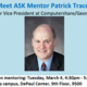 Open Mentoring Session w/ Pat Tracey