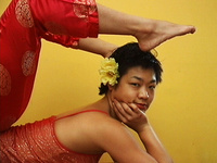 """Landmarks Video Presents """"Contortion"""" by Patty Chang"""