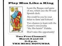 "Learn to play ""Mus"""
