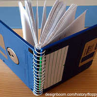 Floppy Disk Note Books