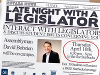 Late Night with a Legislator