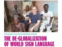 The Deglobalization of World Sign Language