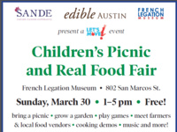 Children's Picnic and Real Food Fair