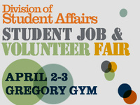 Student Job and Volunteer Fair