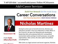 Career Conversation with Nicholas Martinez '08
