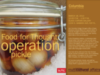 Food for Thought: Operation Pickle