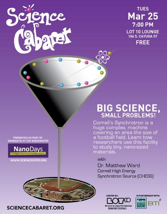 Science Cabaret: Big Science, Small Problems!
