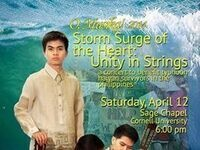 """O Musika!"" Storn Surge of the Heart: Unity in Strings"