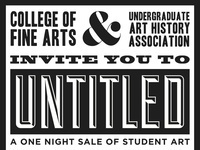UNTITLED: One Night Sale of Student Art
