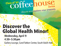 Discover the Global Health Minor!