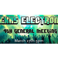 Texas Electronic Music Club: General Meeting
