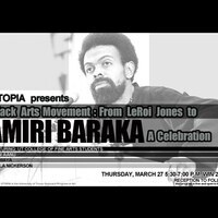 The Black Arts Movement: From LeRoi Jones to Amiri Baraka