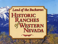 "Public lecture: ""Land of the Buckaroo: Historic Ranches of Western Nevada"""