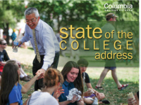 State of the College address