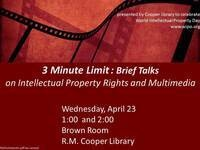 3 Minute Limit: Brief Talks on Intellectual Property Rights and Multimedia