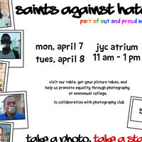 Are you a Saint Against Hate?
