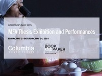 Interdisciplinary Arts Thesis Exhibition & Performances