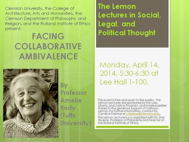 Facing Collaborative Ambivalence-Presidential Colloquium