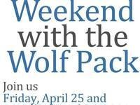 Weekend with the Wolf Pack- Pack Pep Rally