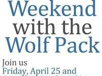 Weekend with the Wolf Pack- Silver and Blue Spring Football Game