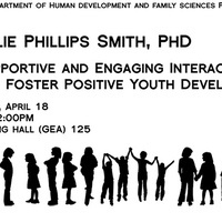 Talk: Fostering Positive Youth Development